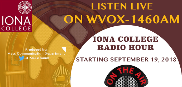 NEW SHOW: Iona College Radio Hour