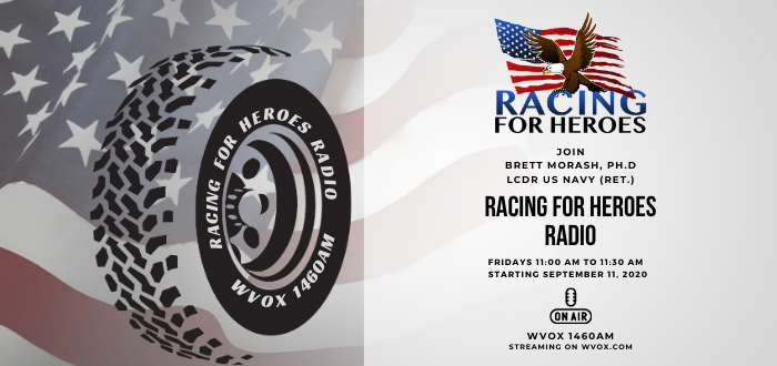 NEW SHOW: Racing for Heroes
